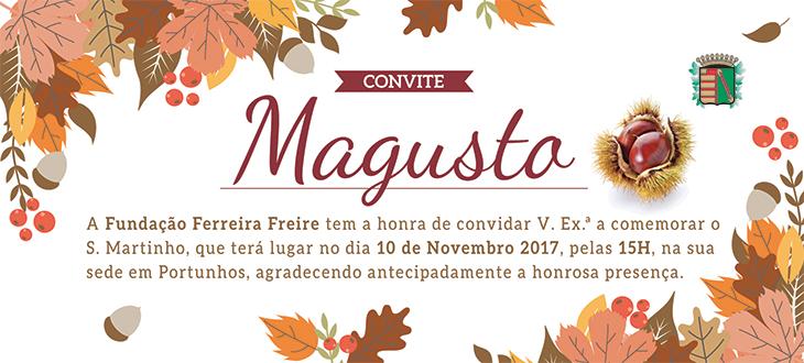 Convite Magusto